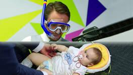 Sue bebeğe kaka operasyonu!