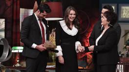 Hıçkırık'ın Nalan ve Kenan'ı,Hülya Koçyiğit ile Beyaz Show'da bir araya geldi!