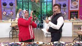 Fatih Ürek'i hayran bıraktıran yılan dansı!
