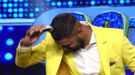 Popstar yarışmacısı Salih, sahnede saçını kesti!