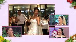 Yasemin'in düğününden çok özel görüntüler!