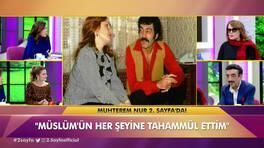 Muhterem Nur, şaşırtan dileği için ne dedi?