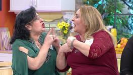 Nilgün Hanım ve Songül Hanım birbirine girdi!