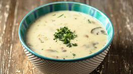 Kremalı Mantar Çorbası - Kremalı Mantar Çorbası Tarifi - Kremalı Mantar Çorbası Nasıl Yapılır?