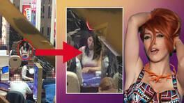Hande Yener'in şoke eden görüntüsü!