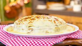 Arda'nın Ramazan Mutfağı - Kıymalı Mantarlı Krep Kulesi