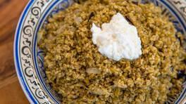 Arda'nın Ramazan Mutfağı - Patlıcanlı Firik Pilavı