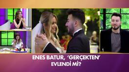 Enes Batur 'gerçekten' evlendi mi? Canlı yayında ilk açıklama!