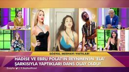 Ebru Polat, Reynmen'in şarkısına yaptığı dansa açıklık getirdi!