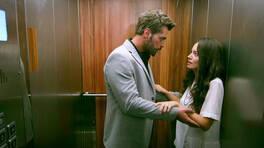 Meryem ve Levent, asansörde mahsur kalıyor!