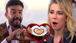 Mazlum'dan, Selin'e aşk dolu tost!