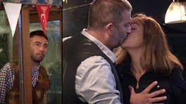 Seray, Mesut'un dudaklarına yapışıyor!