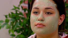Yağlı ve Siyah Noktalı Ciltler için Maske