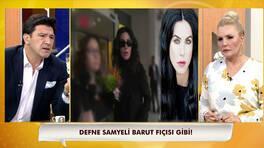 Defne Samyeli'yi sinirlendiren o soru!