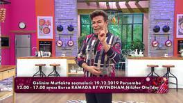 Gelinim Mutfakta seçmeleri 19 Aralık'ta Bursa'da!