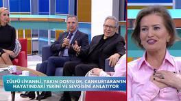 Zülfü Livaneli, Dr. Özlem Cankurtaran'ın hayatındaki yerini anlattı!