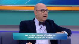 MS Hastalığının (Multiple Skleroz) Türkiye'de görülme sıklığı nedir?