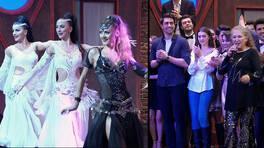 Muhteşem dans gösterisi ve Suzan Kardeş'in şarkıları izleyenleri coşturdu!