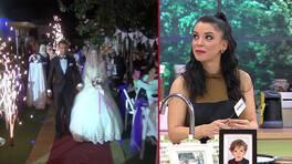 Burçin'in düğününden özel görüntüler!