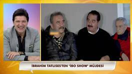 İbo Show geri mi dönüyor? İbrahim Tatlıses açıkladı!