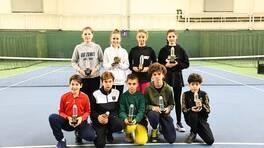 Genç tenisçiler 14 Yaş Kış Kupası ile Kemer Country Club'ta bir araya geldi!
