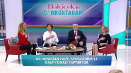 Dr. Neslihan İskit'ten uygulamalı kalp yogası!