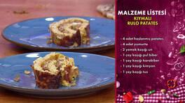 Gelinim Mutfakta - Kıymalı Rulo Patates Tarifi