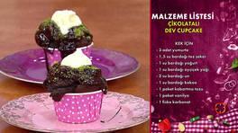 Gelinim Mutfakta - Çikolatalı Dev Cupcake Tarifi
