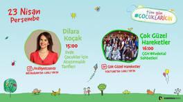 Demirören Medya'dan 23 Nisan'a özel Online Çocuk Festivali!