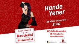 Sahne şovları ve danslarıyla Hande Yener'den konser şöleni!