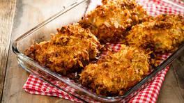 Fırında Çıtır Tavuk - Fırında Çıtır Tavuk Tarifi - Fırında Çıtır Tavuk Nasıl Yapılır?