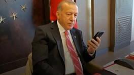 Cumhurbaşkanı Erdoğan,  Mukadder Öksüz ile telefonla görüştü