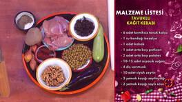 Gelinim Mutfakta - Tavuklu Kağıt Kebabı Tarifi