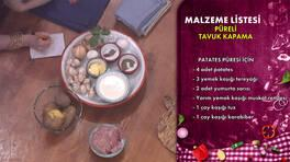 Gelinim Mutfakta - Püreli Tavuk Kapama Tarifi