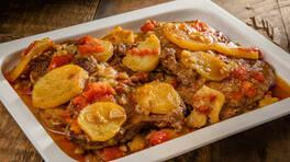 Patatesli Antrikot - Patatesli Antrikot Tarifi - Patatesli Antrikot Nasıl Yapılır?