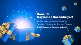 Kanal D Bayramda Ödül Dağıtıyor