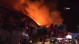 İstanbul Finans Merkezi şantiyesinde yangın