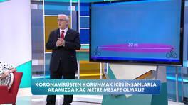 Koronavirüsten korunmak için ne kadar mesafe olmalı?