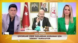 """İçişleri Bakanı Süleyman Soylu """"SİBERAY""""ın kurulacağını duyurdu!"""