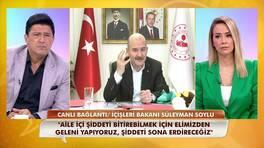 İçişleri Bakanı Süleyman Soylu KADES uygulamasını anlattı!