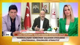 İçişleri Bakanı Süleyman Soylu, maske konusunda vatandaşları uyardı!