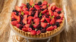 Arda'nın Mutfağı - Keşküllü Kırmızı Meyveli Tart Tarifi - Keşküllü Kırmızı Meyveli Tart Nasıl Yapılır?