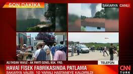 Son dakika! Sakarya'daki patlamayla ilgili açıklama! 'Tablo iyi görünmüyor' | Video
