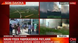 Son dakika... Sakarya'daki patlamayla ilgili çok önemli uyarı