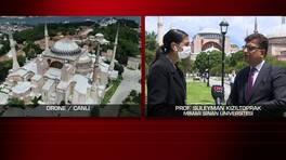 Özel Haber... Ayasofya ibadete açılacak mı? Uzman isim canlı yayında değerlendirdi   Video