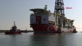 Yerli sondaj gemisi Fatih, Tuna-1 lokasyonuna konumlandı   Video
