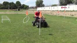 Drone, ATV ve atlı ekipler kurbanlıkları yakalayacak   Video