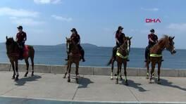Son Dakika Haberleri: Atlı polisler denetimdeydi | Video