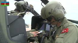 Azerbaycan ve Türk ordusunun tatbikatı devam ediyor | Video