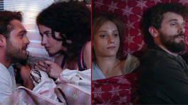 Aşıklar aynı yatakta!